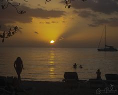 One of the greatest sunset in 7 mile beach #Negril, Jamaica