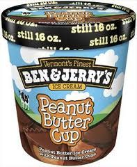 Mall Food Court Copycat Recipes: Ben and Jerry's Peanut Butter Cup Ice Cream