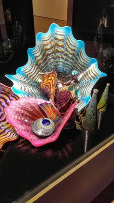 Dale Chihuly collection at the Oklaoma City Museum of Art