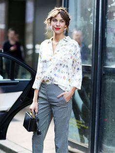 The 21 Steps to Dressing Just Like Alexa Chung via @WhoWhatWearUK
