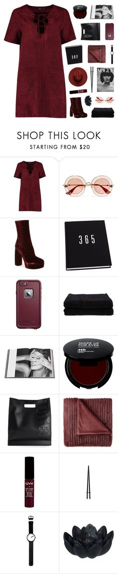 """""""oooo"""" by ughtara ❤ liked on Polyvore featuring Boohoo, Gucci, Miu Miu, LifeProof, Home Source International, Rizzoli Publishing, 3.1 Phillip Lim, JCPenney Home, Rosendahl and Sia"""