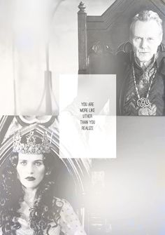 Morgana and Uther Pendragon