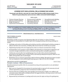 Community Development Executive-Page2 | Non Profit Resume Samples ...