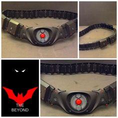 Custom designed utility belts for you! Please visit our page: Batman Fan Art, Real Batman, Superman X Batman, Batman Suit, Spiderman, Batman Beyond Suit, Batman Beyond Terry, Batman Workout, Futuristic Helmet