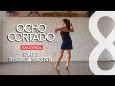 Forward Ocho W/ Tuck In Front ~ Argentine Tango Followers, Intermediate - YouTube