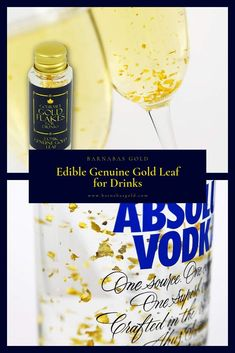 Buy now on Amazon prime from Barnabas Gold. #founditonamazon Edible Genuine Gold Flakes for Drinks. WOW YOUR GUESTS at your next dinner party by serving cocktails, champagne or prosecco with genuine gold leaf floating and swirling inside them. A surefire conversation starter! SIMPLE TO USE. Take an ordinary looking glass of bubbly and, in no time, make it look like something served at Royal Garden Parties. #EdibleGold #GoldFlakes #GoldFlakesForDrinks #DrinksWithGoldFlakes #GoldDrinkIdeas Gold Drinks, Edible Gold Leaf, Thing 1, Royal Garden, Garden Parties, Surefire, Big Party, Prosecco, Gourmet