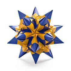 origami starburst.
