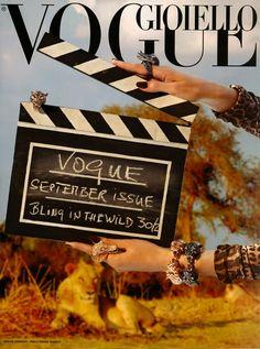 Vogue Gioiello Settembre Bling in the Wild cover