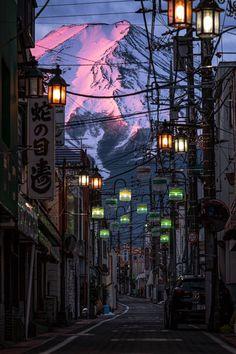 "~Chobbit Hobbit's Nature Corner~ — j-k-i-ng:""Beni Fuji"" by | Hisa (@ag.lr.88)Mt...."