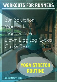 running yoga workout healthy living blogs with uniquely interesting names