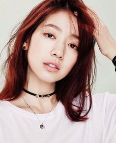 Park Shin Hye Models Swarovski Jewelry For March Marie Claire Asian Celebrities, Asian Actors, Korean Actresses, Korean Actors, Gwangju, You're Beautiful, Beautiful Asian Girls, Korean Beauty, Asian Beauty