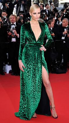 i want get MARRIED in this! natasha poly in gucci at cannes