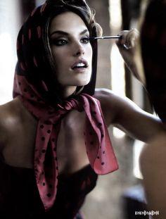 Alessandra Ambrosio for Vogue Mexico - December 2010