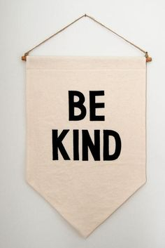Be Kind Banner by mookkasin #Banner #Be_KInd