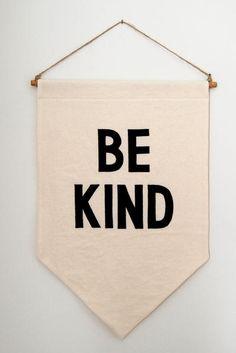 Be Kind Banner by mookkasin #Banner #Be_KInd
