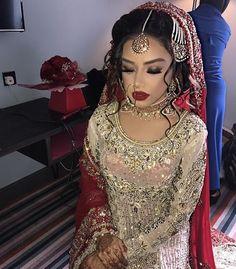 ριηтєяєѕт: @MissM_H Desi Wedding Dresses, Pakistani Wedding Outfits, Pakistani Bridal Wear, Event Dresses, Indian Bridal, Bridal Dresses, Perfect Wedding Dress, Wedding Looks, Bridal Looks