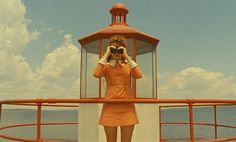 Moonrise Kingdom is recognizable as a Wes Anderson film, complete with dry humor, invented works of art, and an eclectic soundtrack. Alex Colville, Wes Anderson Films, Wes Anderson Style, Famous Movie Scenes, Famous Movies, Iconic Movies, Greatest Movies, Wes Anderson Color Palette, Kara Hayward