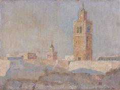 Vue de Tunis von Alexandre Roubtzoff