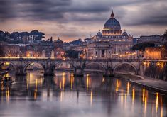Magnificent city of Rome in Italy.