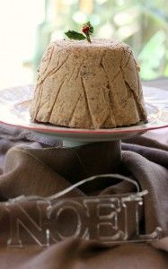 Iced Cream Cheese Christmas Pud - Cooking with Tenina Thermomix Recipes Healthy, Thermomix Desserts, Healthy Eating Recipes, Spicy Recipes, Sweet Recipes, Real Food Recipes, Cooking Recipes, Thermomix Icecream, Christmas Pudding Ice Cream