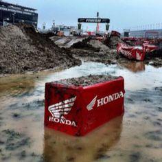 Daytona Supercross 2012  - BEST Race of the year IMO.  Gotta love a Daytona Mudder.