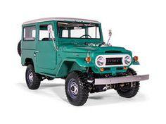 1968 Toyota Land Cruiser FJ40 Deep Green FJ40 63668