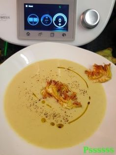 Artischockencreme in Thermomix® Lidl, Thermomix Soup, Tapas, Slow Food, Canapes, Low Carb Diet, Cream Recipes, Baby Food Recipes, I Foods