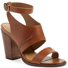 Women's Treasure&Bond 'Kaden' Ankle Strap Sandal, Size 5.5 M - Brown