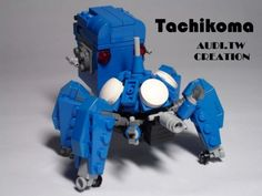 Lego Tachikoma! Must manage to make this at least once!