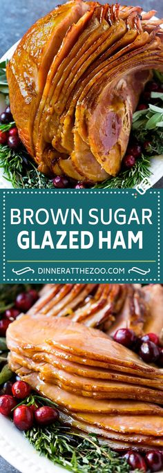 French Delicacies Essentials - Some Uncomplicated Strategies For Newbies Brown Sugar Glazed Ham Recipe Holiday Ham Glaze Christmas Ham Holiday Ham, Holiday Dinner, Holiday Recipes, Recipes Dinner, Christmas Ham Recipes, Dessert Recipes, Holiday Parties, Dinner Ideas, Breakfast Recipes