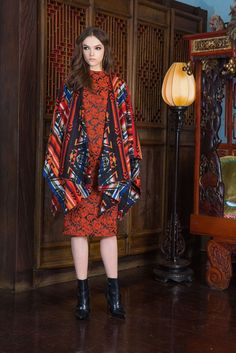 Alice + Olivia Pre-Fall 2015 Fashion Show Collection