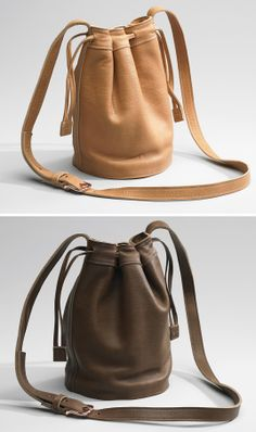 Cute, Drawstring Leather Purses