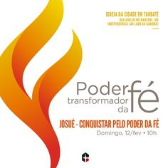 Hashtag #ConquistarPeloPoderDaFé no Twitter