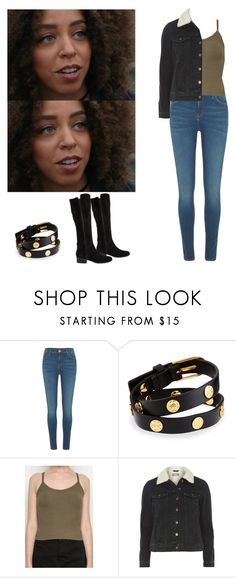 """""""Valerie Brown - Riverdale"""" by shadyannon ❤ liked on Polyvore featuring River Island, Tory Burch, Dorothy Perkins and Steve Madden"""