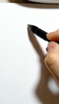 Watercolor Beginner, Watercolor Art Lessons, Watercolor Paintings For Beginners, Watercolor Video, Watercolor Projects, Watercolor Techniques, Watercolor Flowers Tutorial, Watercolour Tutorials, Diy Canvas Art