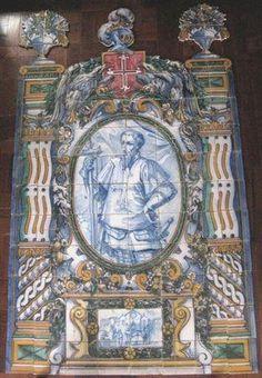 D. Nuno Álvares Pereira -  Museu Nacional do Azulejo