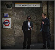 Notting Hill Gate. Underground Tube