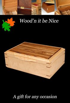Handcrafted wood jewelry box. Quality built with premium materials to create the perfect gift for anyone, and any occasion. Built of quality domestic and imported hardwoods to ensure a lifetime of use and enjoyment. #woodbox #keepsakebox #jewelry box 5th Wedding Anniversary, Wood Boxes, Keepsake Boxes, Decorative Accessories, Jewelry Box, Etsy Seller, Nice, Create, Gifts