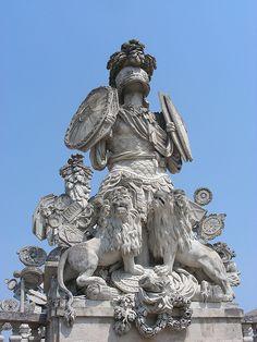 Schonbrunn Palace. Vienna.