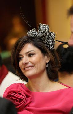 Miriam Gonzalez Durantez  #Fascinators #Jubilee #Miriam