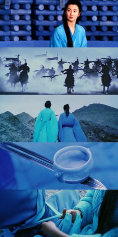 Hero, Ying xiong (original title) 2002, Directed by  Yimou Zhang, Cinematography by  Christopher Doyle