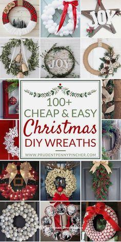 25 Creative DIY Ideas For A Rustic Festive Decor #christmaslights