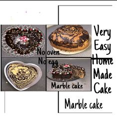 How to make marble cake at home Marble Cake, Maya, Oven, Homemade, Cookies, Chocolate, Breakfast, Desserts, Food