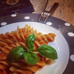 Fusilli al pomodoro #Italy