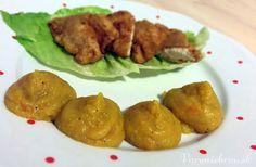 Kuracie prsia v pivnom cestíčku s mrkvovým pyré Chicken, Meat, Food, Essen, Meals, Yemek, Eten, Cubs