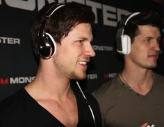Marianas Trench feeling the music with a few of Monster Products Over Ear Headphones, Trench, Music, Products, Musica, Musik, Muziek, Music Activities, Gadget