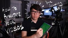 How To Draw and Annotate on Live Videos!