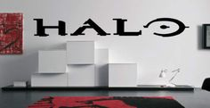 HALO Logo Video Games Vinyl Wall Art Decal