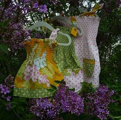 Learn how to make these sweet summer dresses http://kojo-designs.com/2010/06/kojotutorial-sweet-summer-dress-2/ #sewing