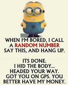"""These """"Top Minion Quotes On Life – Humor Memes & Images Twisted"""" are so funny and hilarious.So scroll down and keep reading these """"Top Minion Quotes On Life – Humor Memes & Images Twisted"""" for make your day more happy and more hilarious. Funny Minion Pictures, Minions Images, Funny Minion Memes, Minions Quotes, Stupid Funny Memes, Funny Relatable Memes, Funny Pranks, Minion Humor, Minion Stuff"""